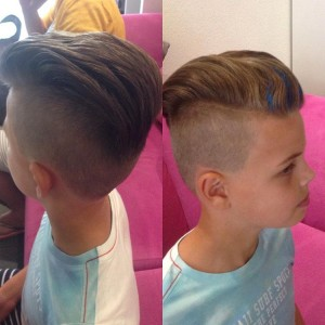 Trendy haircut for kids