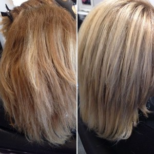 Balayage + olapflex Kleur: ash naturel brown